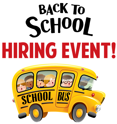 Back to School Bus Driver Hiring Event